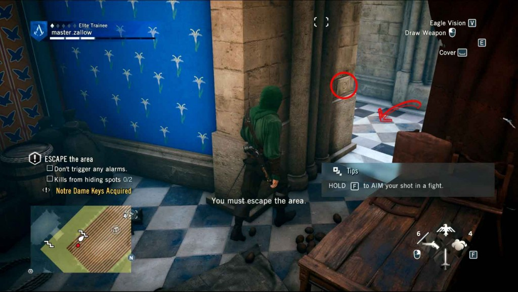 Assassins-Creed-Unity-Sequence-3-Memory-2-Escape-The-Area Image