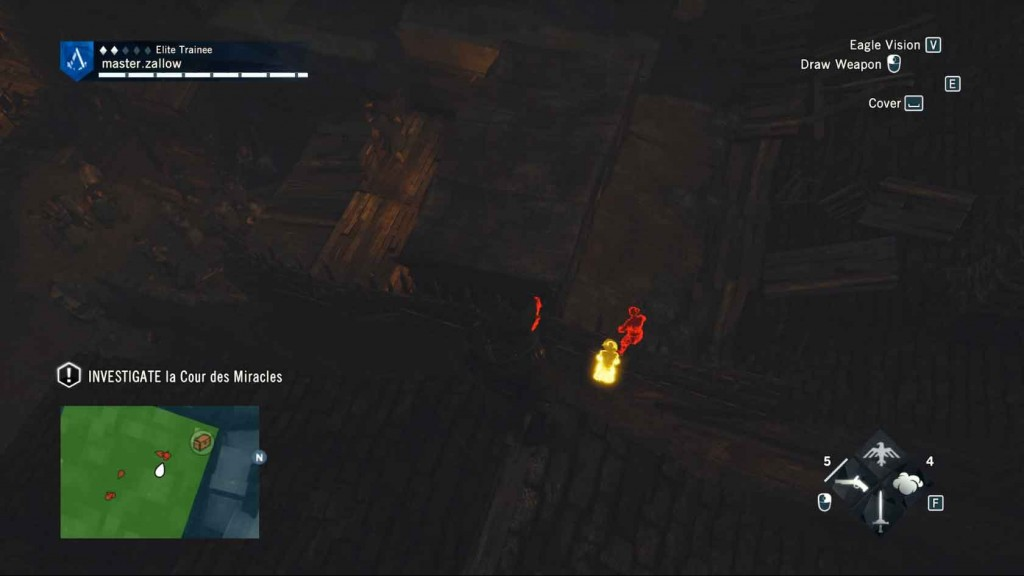 Assassins-Creed-Unity-Sequence-4-Memory-1-The-Kingdom-Of-Beggars-Investigate Image