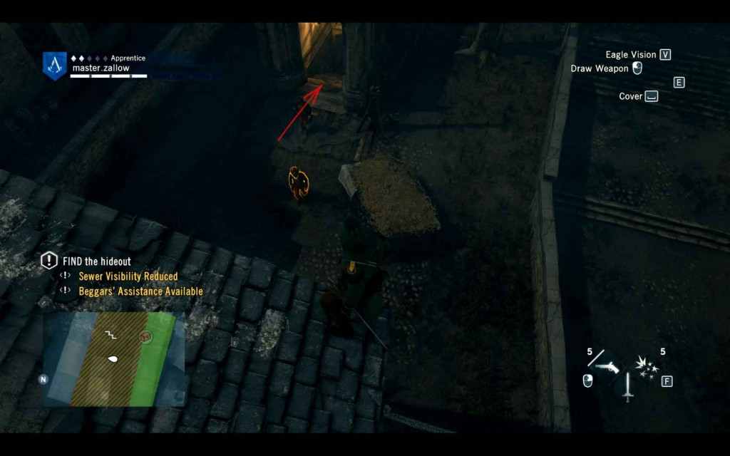Assassins-Creed-Unity-Sequence-4-Memory-2-Le-Roi-Est-Mort-Sewer-Entrance Image