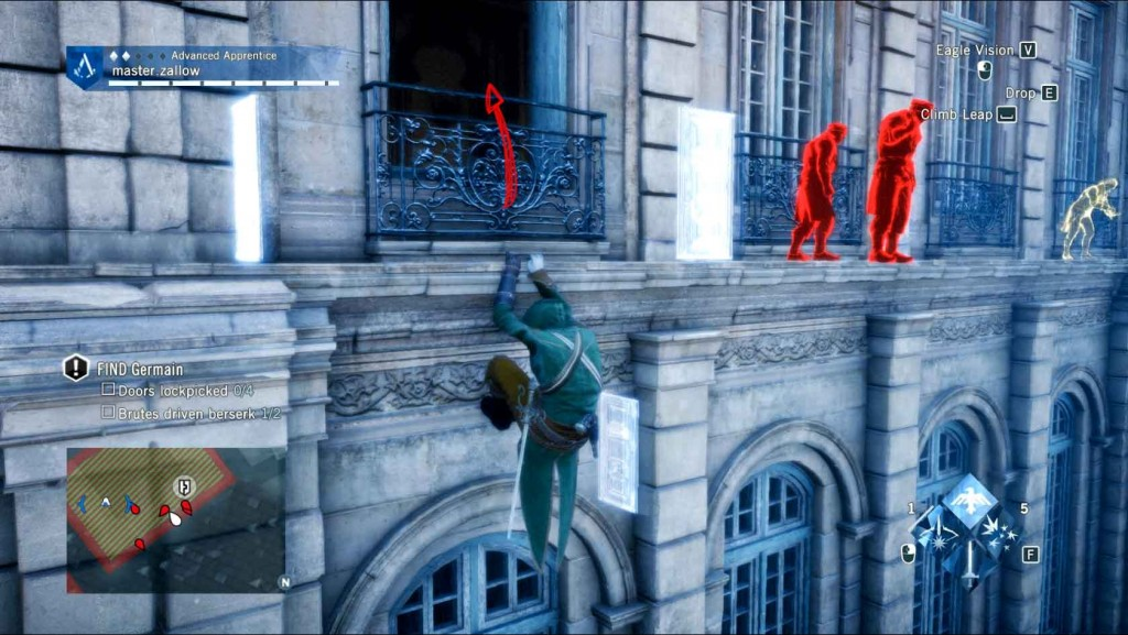 Assassins-Creed-Unity-Sequence-5-Memory-1-The-Silversmith-Enter-The-Building Image