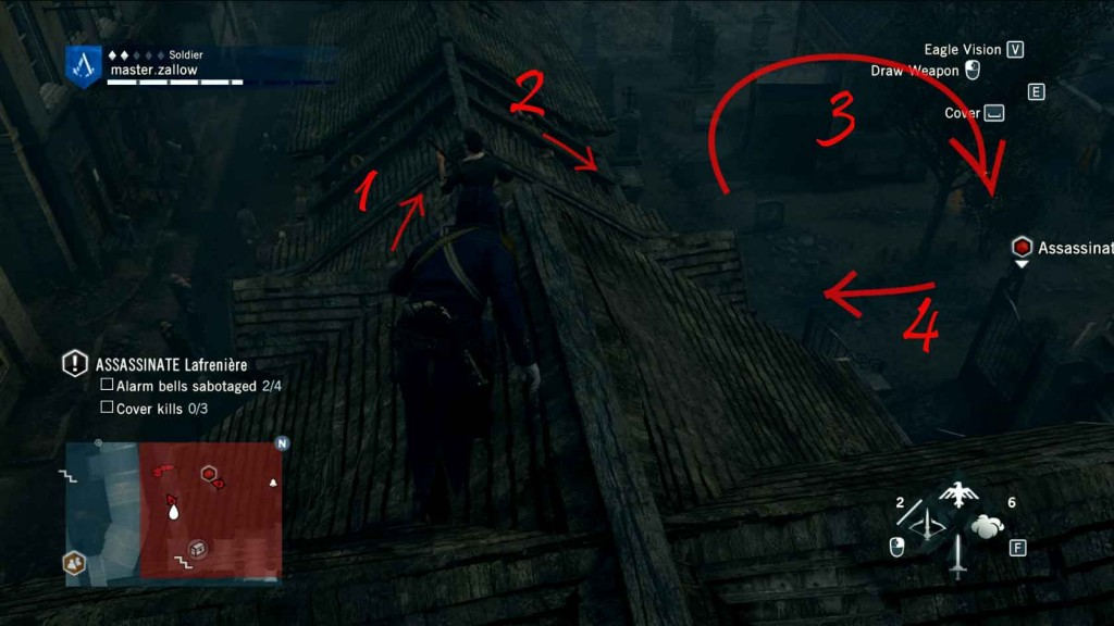 Assassins-Creed-Unity-Sequence-5-Memory-3-The-Prophet-Assassinate-Lafreniere Image