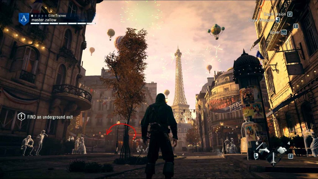 Assassins-Creed-Unity-Server-Bridge-Paris-Belle-Epoque-Eiffel-Tower Image