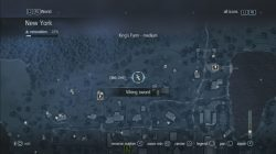Assassin's Creed Rogue King's Farm Viking Sword