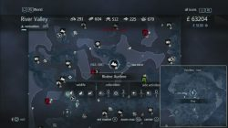 Assassin's Creed Rogue Templar Map Albany