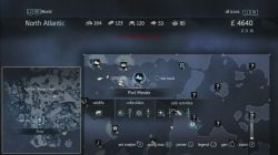 Assassins Creed Rogue Templar Map Port Menier