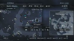 Assassin's Creed Rogue Templar Map The Sapphire