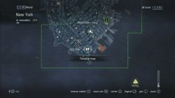 Assassin's Creed Rogue Templar Map Waterfront