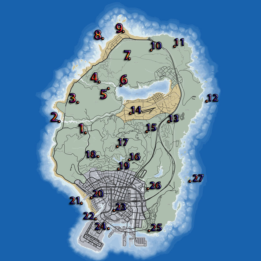 GTA 5 Peyote Plant Locations