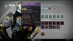 Iron Regalia Boots (INT/STR) Hunter