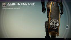 Jolders Iron Sash