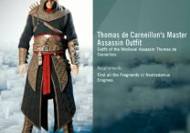 ac unity Thomas de Carneillon Master Assassin Outfit