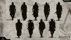 AC Rising Sun Characters Sketches Image