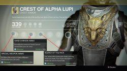 Crest of alpha lupi titan