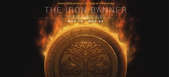 destiny Iron Banner 2.0 guide November 18-24