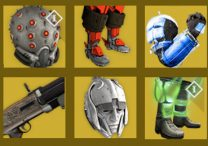 destiny new exotic items