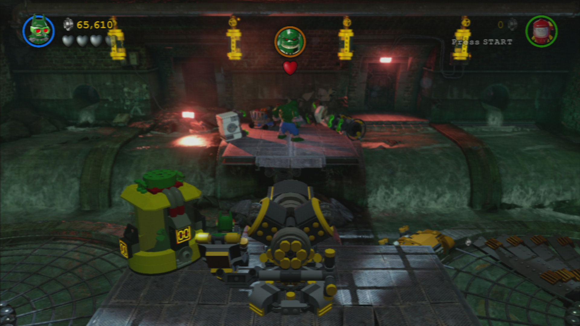 Lego Batman 3 Level 1 Pursuers In The Sewers Walkthrough