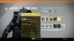 xur the armemantarium november 14