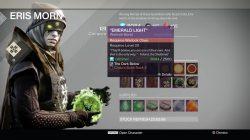 Destiny Emerald Light