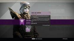 Destiny Fist of Crota