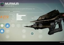Destiny Murmur Fusion Weapon