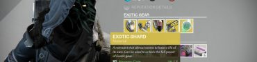 destiny exotic shard