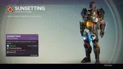 Destiny sunsetting