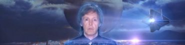 Holographic Paul McCartney in Destiny Music Video