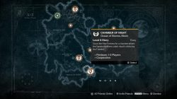 chamber of night cursed thrall location
