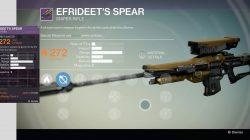 efrideet's spear
