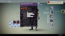 One way ticket 000 legendary rocket launcher