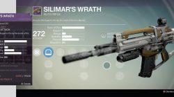 silimars wrath