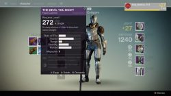 The Devil You Don't legendary hand cannon