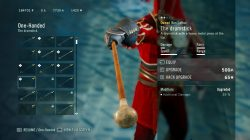 AC Unity Dead Kings The Drumstick Weapon