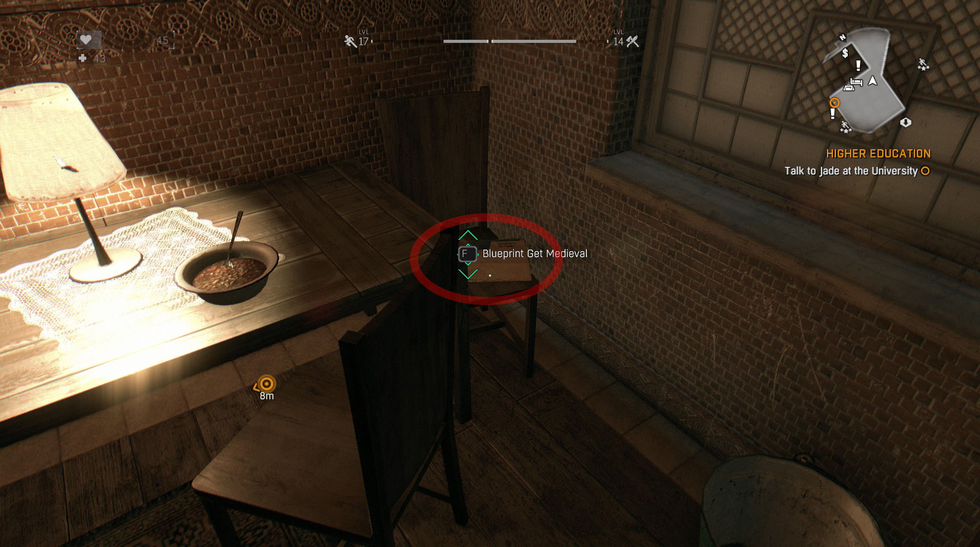 Lighting Basement Washroom Stairs: Dying Light Blueprint Locations In Old Town Guide
