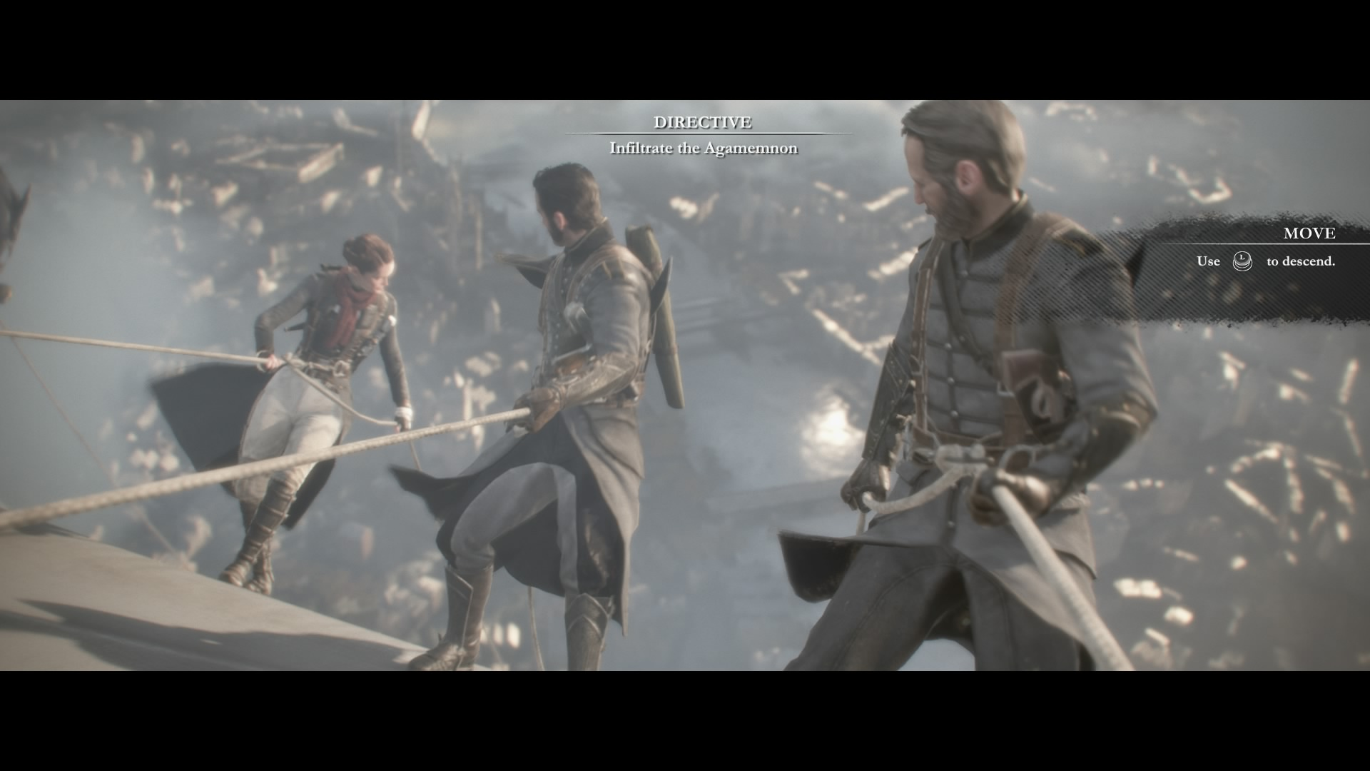 The Order 1886 Infiltrate the Agamemnon