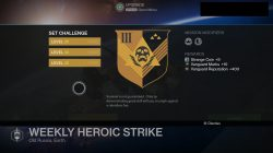 house of wolves weekly heroic strike