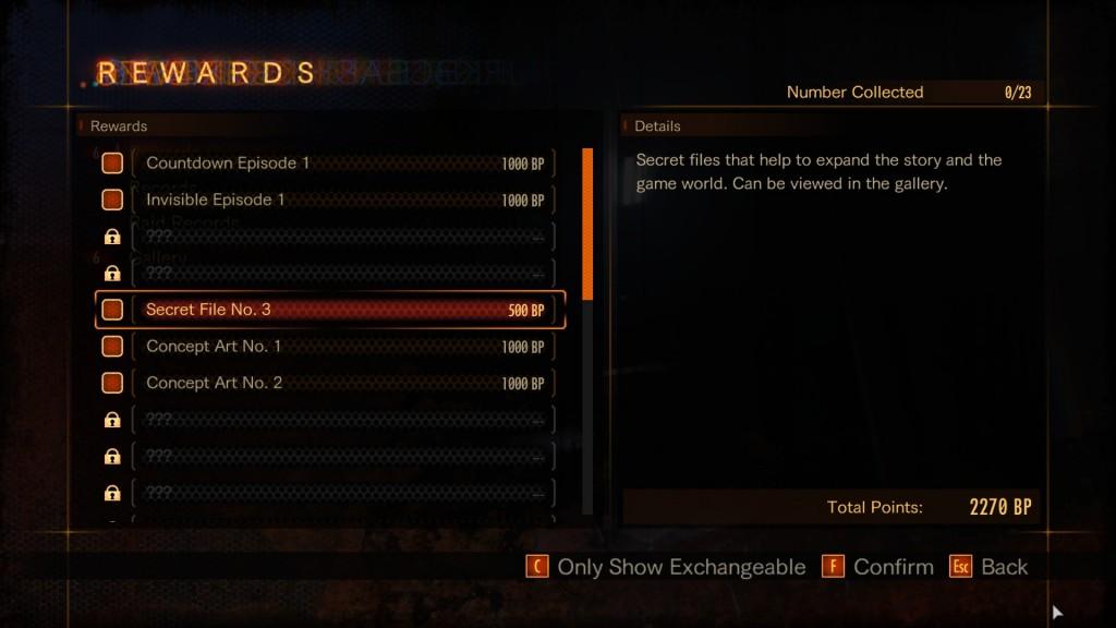 buggin out achievement reward secret file