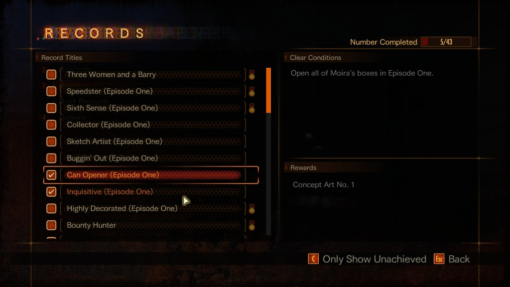 resident evil revelations 2 moira's boxes locations guide  can opener
