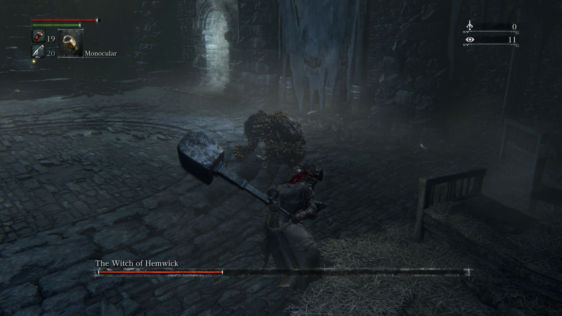 Bloodborne The Witch Of Hemwick How To Find Kill Fifth Boss