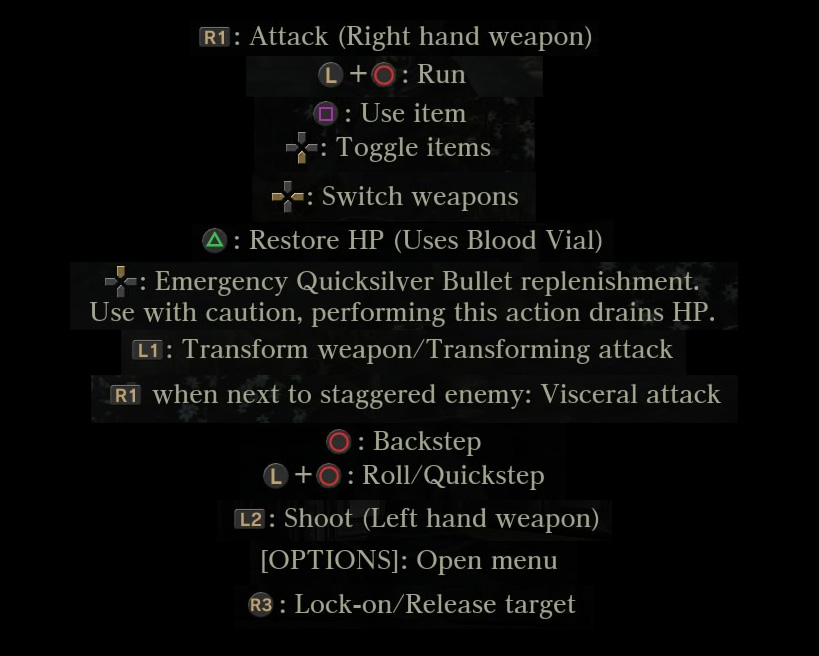 bloodborne control tips