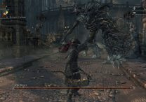 how to defeat cleric beast first boss bloodborne