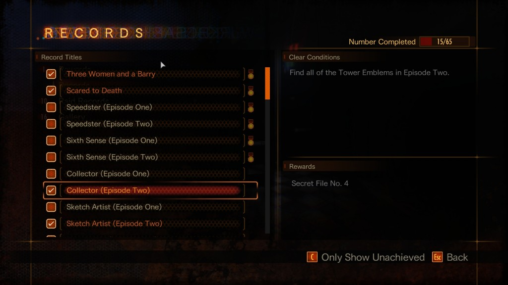 tower emblem collector achievement 2