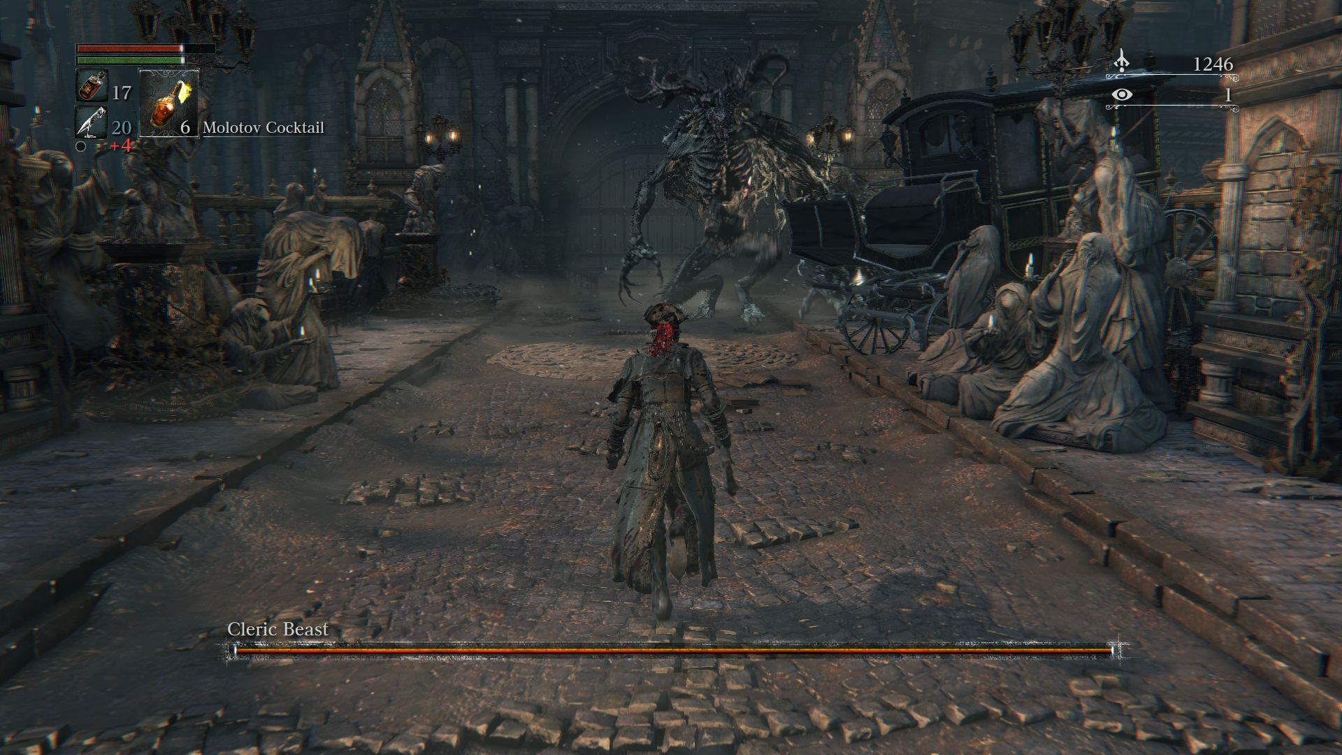 Breath Of The Wild Bosses >> How To Get To The First Boss Cleric Beast In Bloodborne