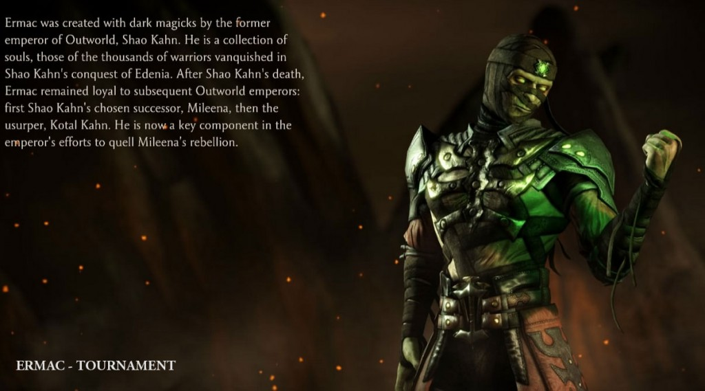 mkx ermac outfit