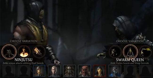 Character Variations Guide Mortal Kombat X
