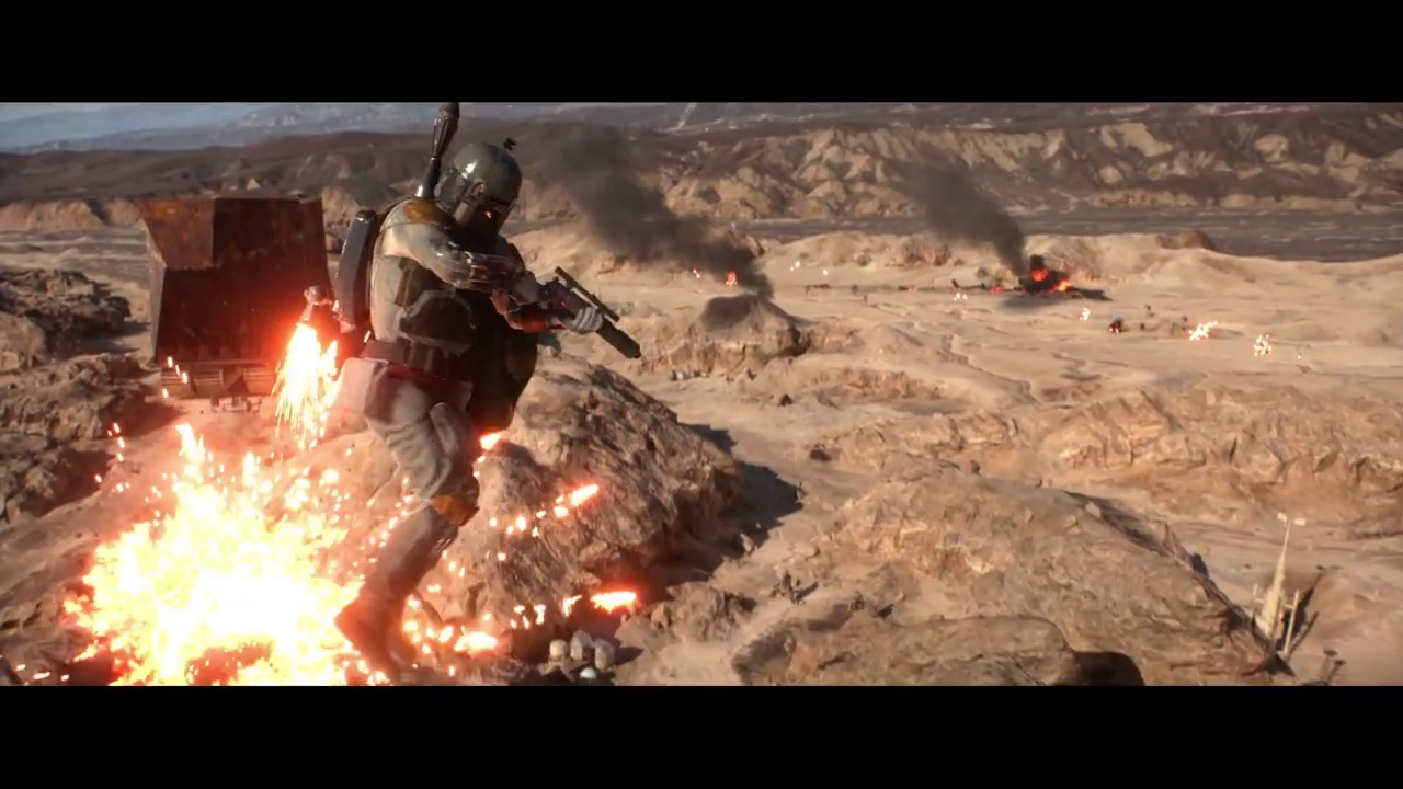 Star Wars Battlefront Playable Heroes Announced