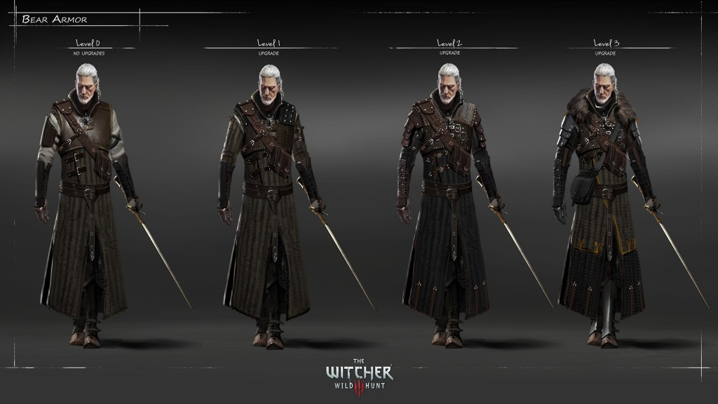 witcher 3 wild hunt armor
