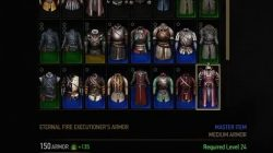 witcher 3 eternal fire executioner's armor