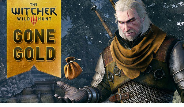 the witcher 3 wild hunt gone gold