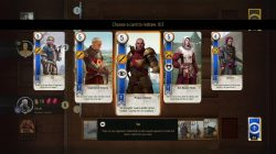 witcher 3 card game redraw